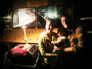 Kristen and Dustin Stewart made the commitment to Dusty Buns in Fresno after moving from San Francisco nearly three years ago. They own the Dusty Buns food truck and Dusty Buns Bistro near Fresno High.