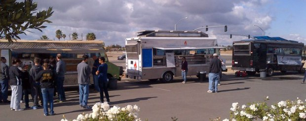 For nearly three months Bella Frutta on Willow and Shepherd has hosted food trucks, creating a local food port similar to other west coast cities.