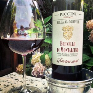 The 2006 Piccini Villa Al Cortile Brunello Di Montalcino Riserva can be purchased via WineChateau.com or other Internet outlets.