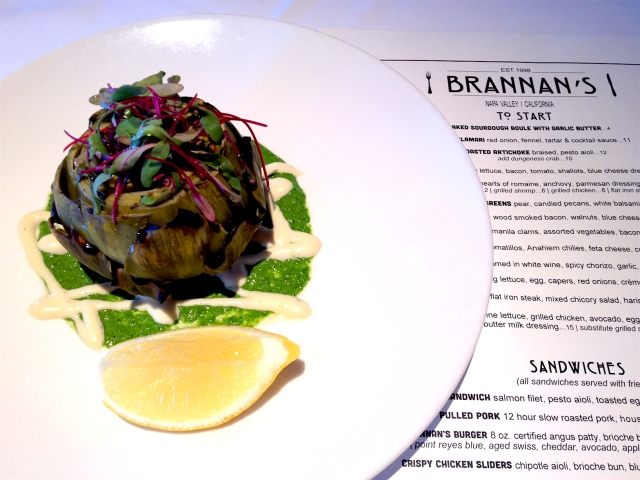 Calistoga: Brannan's Grill for lunch – TalesoftheCork blog