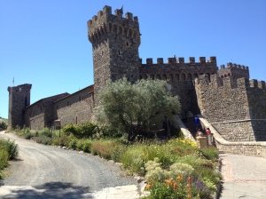 Determined to make the medieval Tuscan castle authentic, owner Dario Sattui only used old, handmade materials or employing old world techniqus to build Castello di Amorosa in Calistoga, Calif.