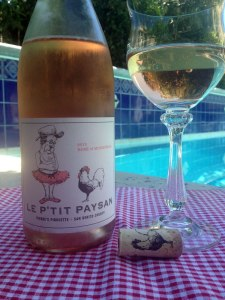 The 2012 Le P'Tit Paysan Mourvèdre had hints of rhubarb, blood orange but the dry Rosé shone its salmon hue and minerality much like its French counterparts.